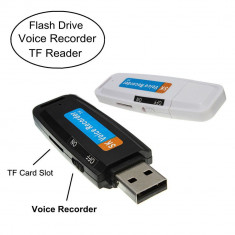 Reportofon USB Digital Recorder 2-4-8GB card 2 gb cadou