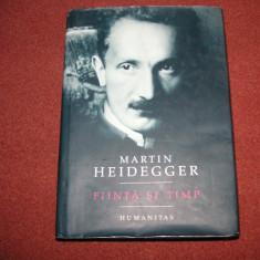 Martin Heidegger - Fiinta si timp