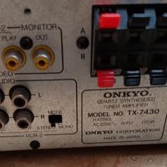 Statie amplituner Onkyo TX 7430 - Amplificator audio