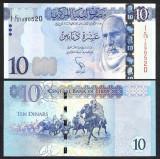 !!! LIBIA - 10 DINARI (2015) - P 82 - UNC