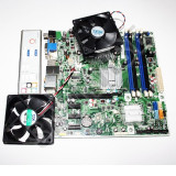 KIT Placa de baza Pegatron IPIEL-LA3, DDR3, Intel Dual Core E5800 3.2GHz, 775, Coolere procesor/carcasa incluse