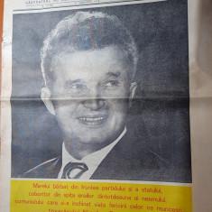 Ziarul contemporanul 27 ianuarie 1978-ziua de nastere a lui ceausescu