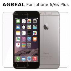 Folie sticla fata + spate Iphone 6S Plus - Folie de protectie, Anti zgariere