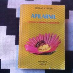 Apilarnil sanatate vigoare longevitate nicolae v iliesiu 1981 carte albine miere - Apicultura
