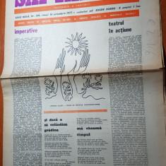 """Ziarul saptamana 14 octombrie 1977-art. """"imperative """" de corneliu vadim tudor"""