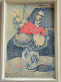 Litografie in relief / pe carton/ autorizata in 1957 / dupa pictor: Paul Cezanne