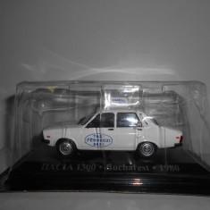 Macheta Dacia 1300 Bucuresti - 1980 scara 1:43 - Macheta auto