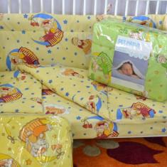 Set pentru pat bebe , bumbac ,7 piese