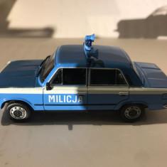 Macheta Fiat 125 P Militia - Polonia scara 1:43