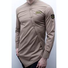 Camasa asimetrica Army - camasa army asimetrica camasa slim fit cod 168
