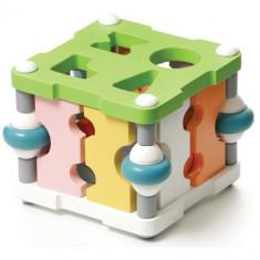Sortator din Lemn Magic - Jocuri Forme si culori