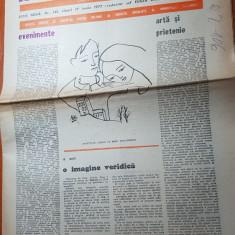 "Ziarul saptamana 17 iunie 1977-art. ""evenimente"" de  corneliu vadim tudor"