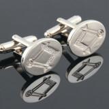 Butoni Pentru Camasa Simboluri Masonice Ovali