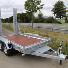 Remorca transport utilaje Blyss 3500 kg cu dimensiune 350x180 cm