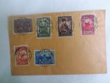 Timbre 10 ani de la unirea Transilvaniei.Stampila speciala., 1900-1950