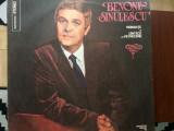 BENONE SINULESCU romante si cantece de petrecere disc vinyl lp muzica populara