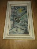 Goblen inramat 38x25cm