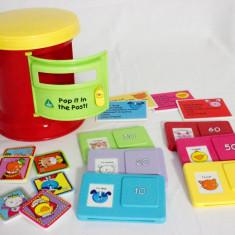 Cutie postala ELC jucarie educativa asocieri, dezvoltare motricitate - Jocuri Forme si culori