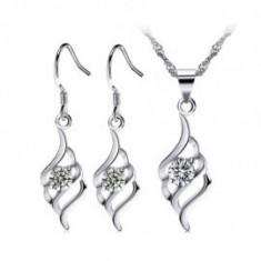 Set bijuterii argint mireasa
