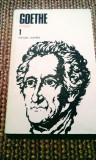 Goethe - Poezia 1, 355 pagini, 20 lei
