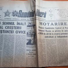 romania libera 16 noiembrie 1977-foto si art. orasul vulcan de pe valea jiului