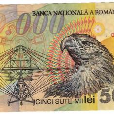 Bancnota 500000 Lei 2000 Ghizari polimer - Bancnota romaneasca