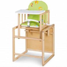Scaun de masa din lemn, multifunctional Klups