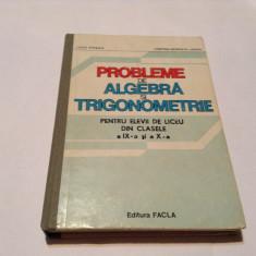 LIVIU PARSAN - PROBLEME DE ALGEBRA SI TRIGONOMETRIE PENTRU CLASELE IX SI X,RF7/4