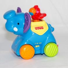 Elefant interactiv cu sunete Fisher Price
