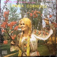 Maria cornescu de sus din varful cu dor disc vinyl lp Muzica Populara electrecord folclor, VINIL