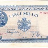Bancnota 5000 lei 2 mai 1944 XF+