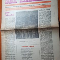 "Ziarul saptamana16 aprilie 1982-art.""centenar parvan"" de corneliu vadim tudor"