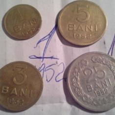 1, 3, 5, 25 BANI 1952 - Moneda Romania