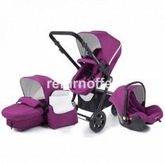 Carucior pentru copii 2 in 1 Kinderkraft kraft 6 plus violet