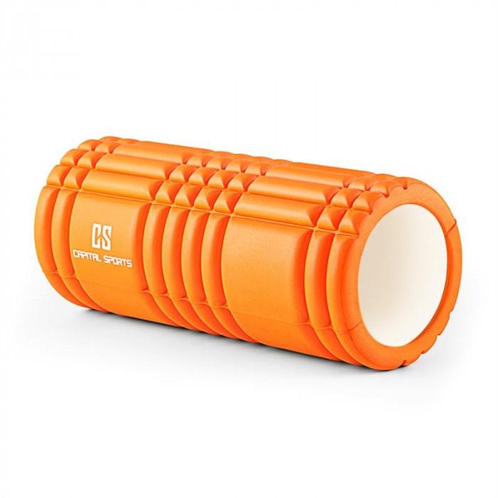 Capital Sport Caprole 1 masaj Roller 33 x 14 cm portocaliu foto mare