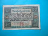 HOPCT GERMANIA 10 MARK 1920 SERIA H  [ 2  ]