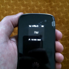 Router Modem Huawei E589u-12 LTE 4G Digi hot spot Wi-Fi-liber de retea(ca nou) - Modem 3G