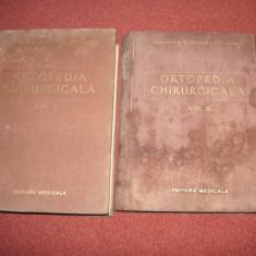 Alexandru Radulescu - Ortopedia Chirurgicala ( Vol. 1 si 2) - Carte Ortopedie