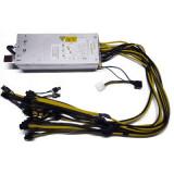 Sursa Pentru Minat 1000w, 12 Mufe PCI-E 6+2 Cu Modul De Pornire, HP