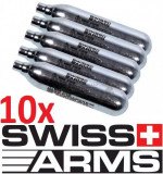 10 Capsule 12Grame  Co2 SWISS ARMS Pistol Pusca Airsoft Alice Aer Comprimat gaz, Cyber Gun