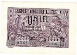 Bancnota 1 leu 1938