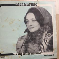 laura lavric mi e drag unde m am nascut disc vinyl lp muzica populara folclor