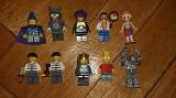 Set colectie 10 Figurine LEGO originale omuleti figurina Bart Robot Wizard Cat