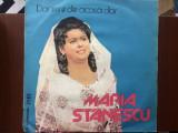 Maria Stanescu dor imi e de acasa dor disc vinyl lp muzica populara folclor, VINIL, electrecord