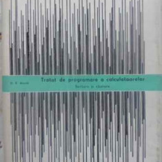 Tratat De Programare A Calculatoarelor. Sortare Si Cautare - D.e. Knuth, 411614