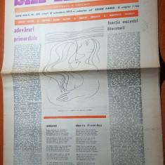 """Ziarul saptamana 21 octombrie 1977- """"adevaruri primordiale """"corneliu vadim tudor"""