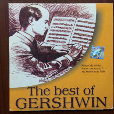 The best of gershwin cd disc compilatie a&a records 2002 - Muzica Clasica a&a records romania