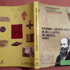 O Istorie A Adventismului De Ziua A Saptea Din Romania. Premise - I. Gh. Rotaru - Carti Istoria bisericii