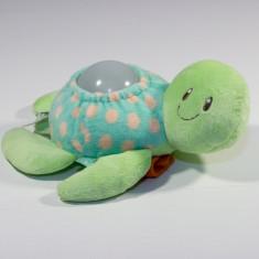 Lampa veghe plush cu muzica Mothercare Baby Ocean Turtle ELC - Jucarie pentru patut