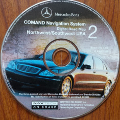 GPS-CD Mercedes-Benz COMAND Navigation System AMERICA Nord / Sud (2001) - Software GPS